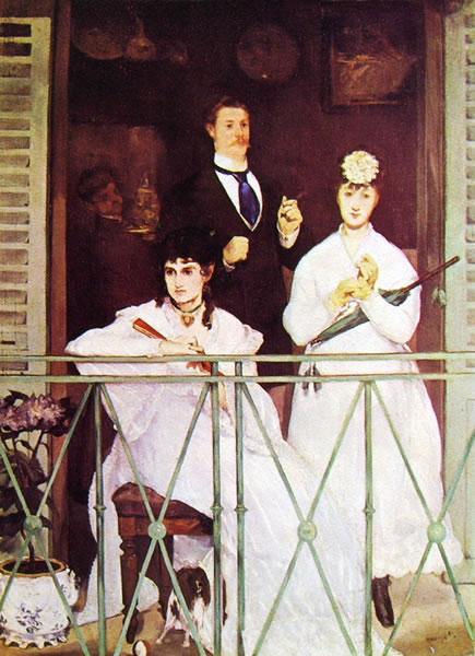 Edouard Manet: Il balcone