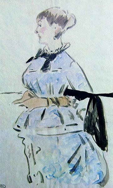 Edouard Manet: Isabelle Lemonnier