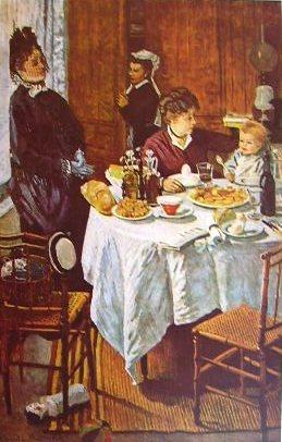 Claude Monet - A pranzo