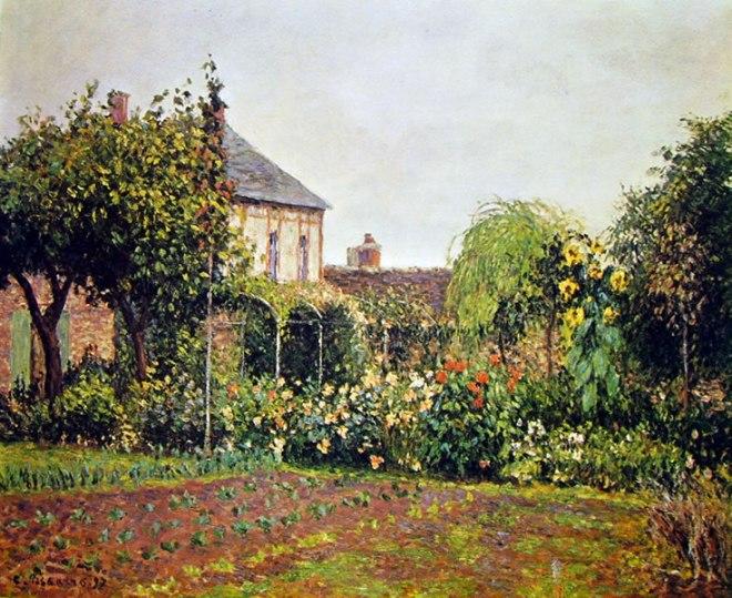 Camille Pissarro: Orto a Eragny