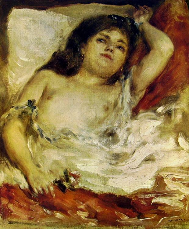 Renoir - Donna sdraiata