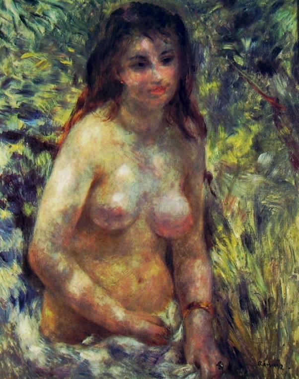 Donna nuda al sole, 80 x 64 cm. Museo d'Orsay, Parigi