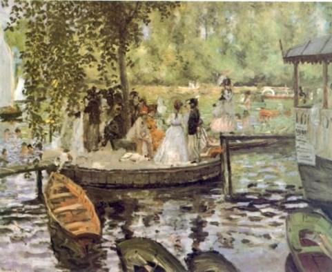 Renoir - La Grenouiellère