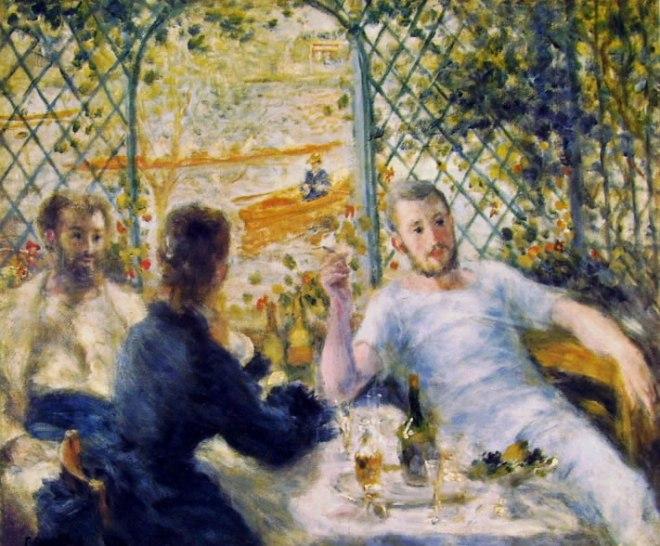 Renoir - Colazione in riva al fiume