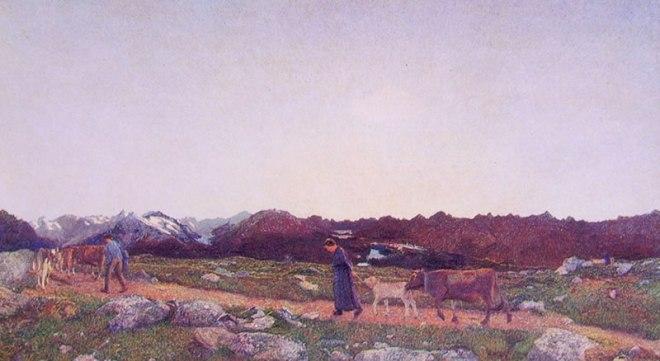 Giovanni Segantini: Il trittico della natura