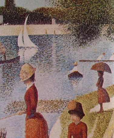 22 Georges Seurat - Particolare della grande jatte