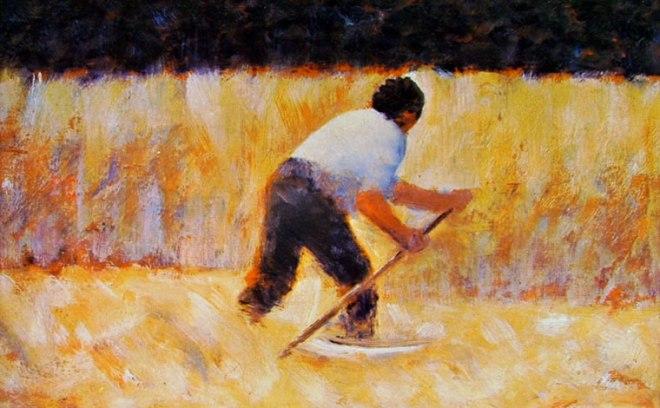 Georges-Pierre Seurat: Falciatore