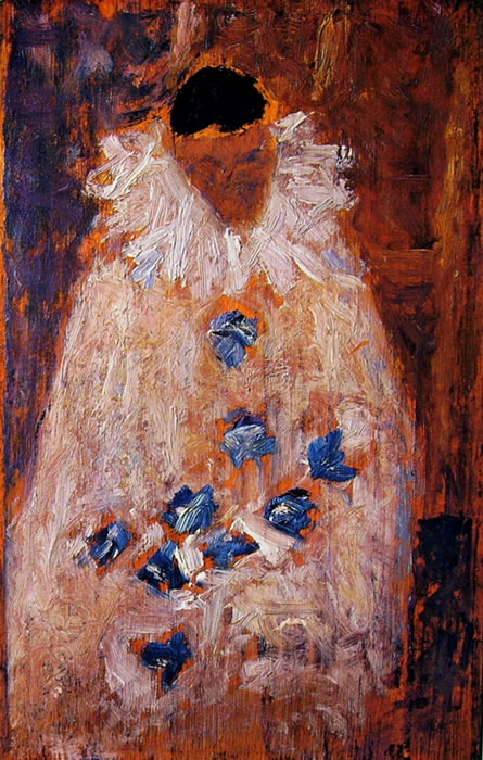 Georges-Pierre Seurat: Aman-Jean in costume di Pierrot