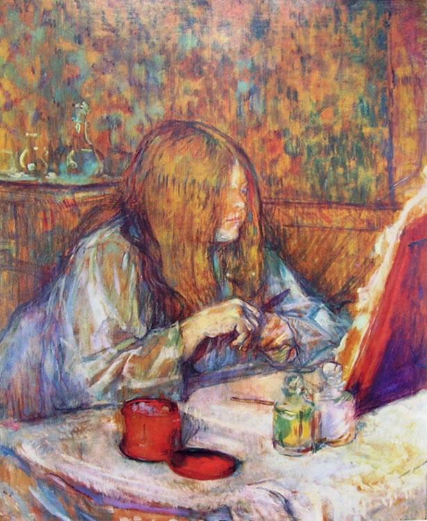 Toulouse-Lautrec: Alla toeletta