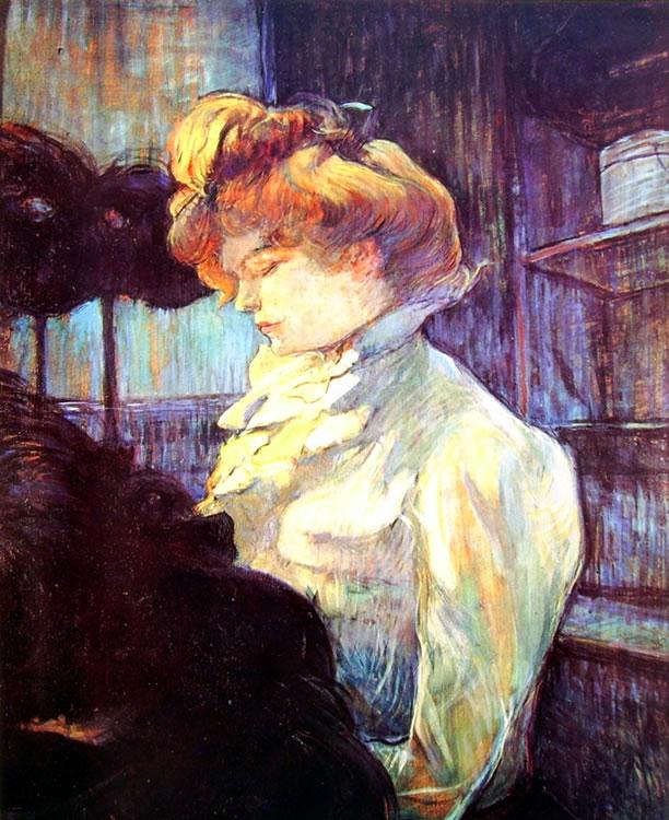 Toulouse-Lautrec: La modista