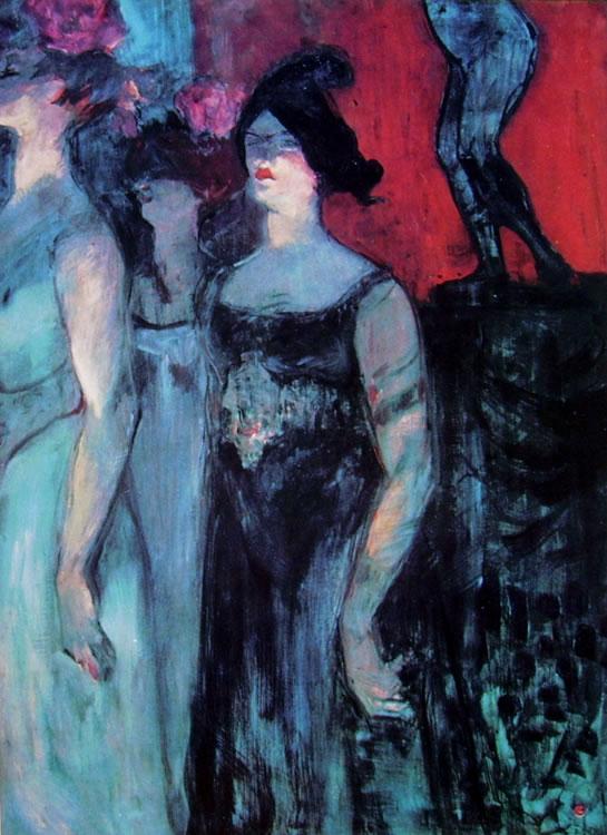 Toulouse-Lautrec: Messaline