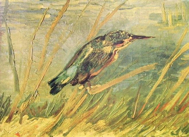 Van Gogh - Martin pescatore