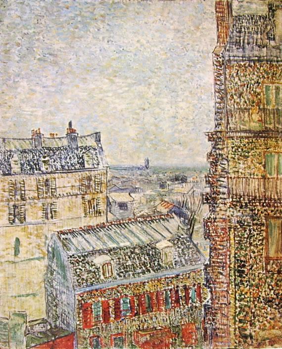 Rue Lepic a Parigi
