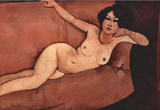Amedeo Modigliani: Nudo sul divano (Almaisa)