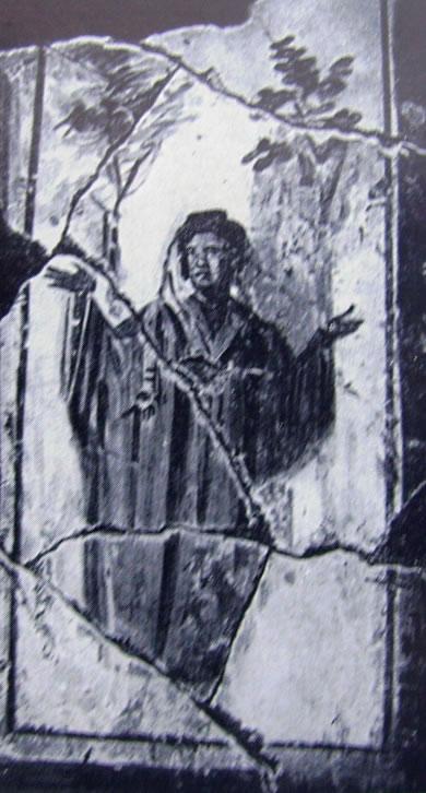 Defunta orante (Cimitero di Domitilla, Roma)