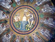 Mosaici della cupola del Battistero degli Ariani