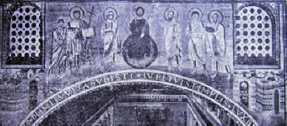 Mosaico dell'Arco Trionfale si San Lorenzo, Roma
