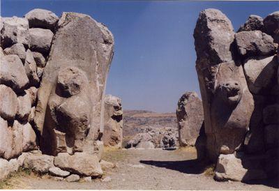 Hattusa porta dei leoni