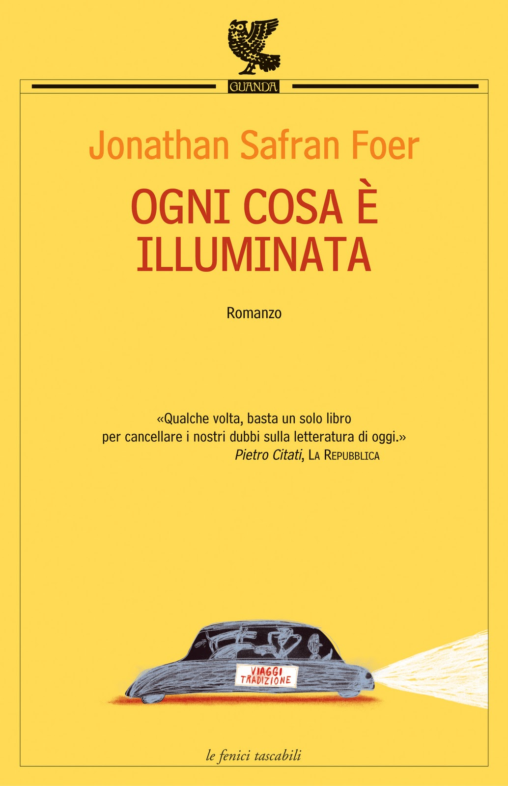 Ogni cosa è illuminata Book Cover