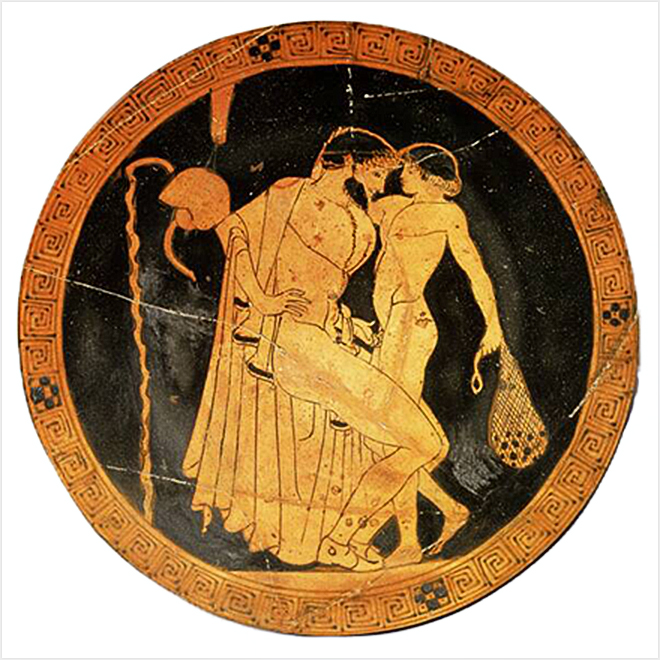 L'amore ai tempi del Partenone, tra pederastia e omosessualità