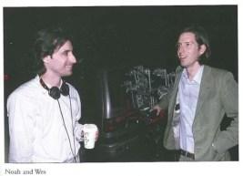 Il regista Noah Baumbach insieme a Wes Anderson