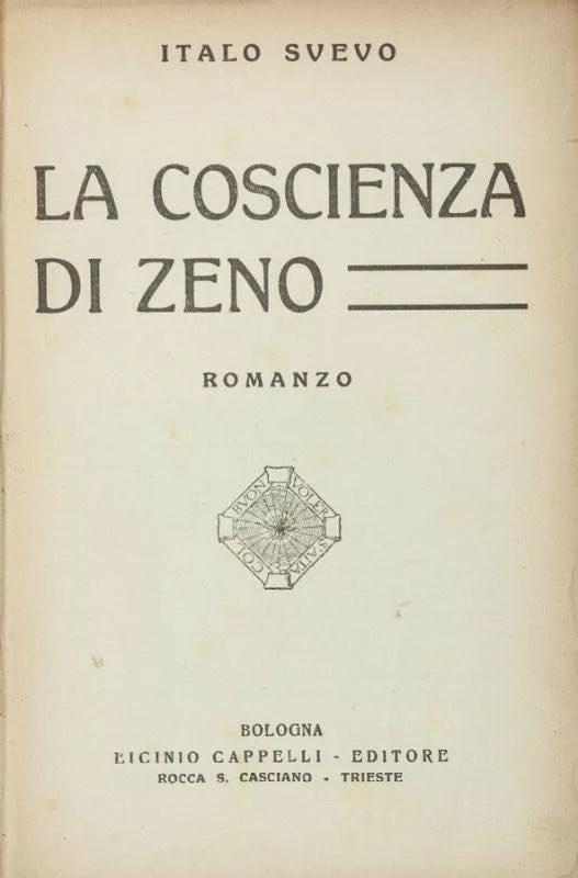 La coscienza di Zeno, prima edizione 1923