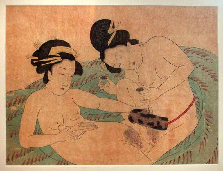 L'eros nell'arte giapponese: le ardite immagini degli shunga