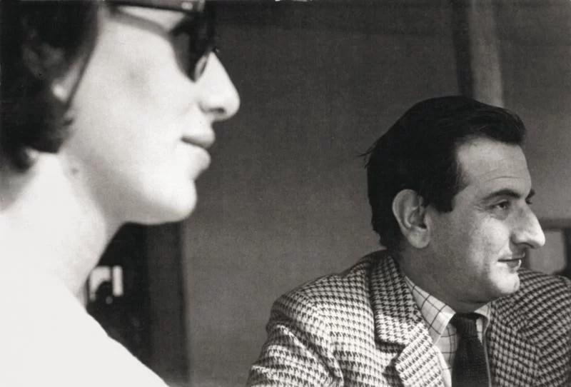 Goffredo Parise e Giosetta Fioroni photo © Mario Schifano