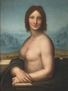 Monna Vanna, Gian Giacomo Caprotti con Leonardo