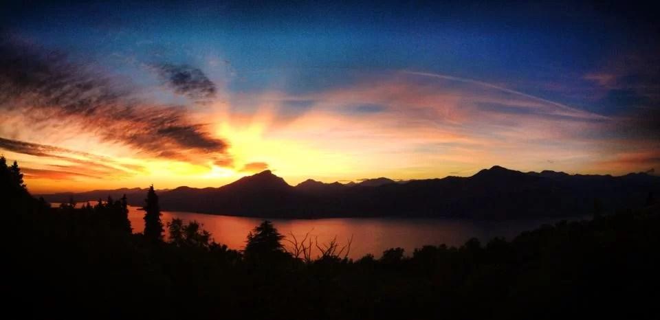 tramonto san zeno