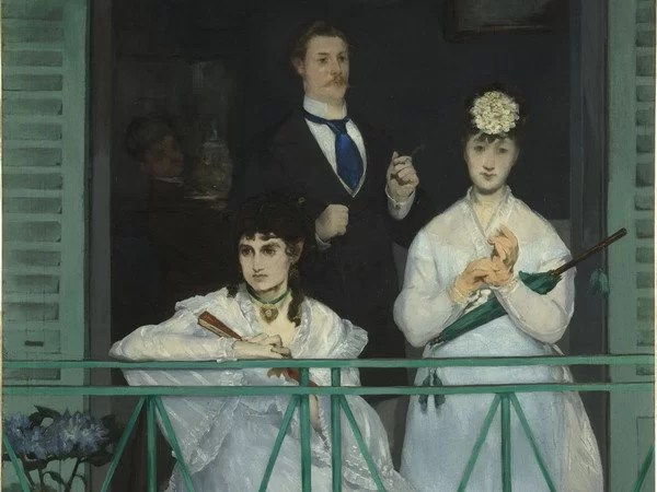 Edouard Manet Il balcone 1868 - 1869 olio su tela  © Musée d'Orsay, dist. RMN-Grand Palais / Patrice Schmidt