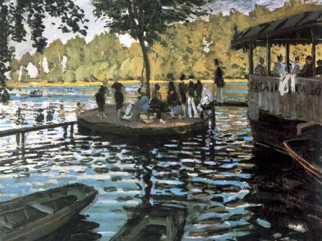 Claude Monet, La Grenouillere