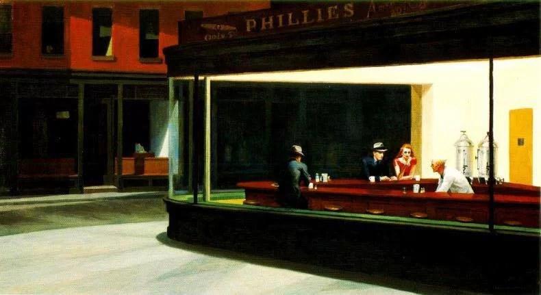 Nighthawks, Edward Hopper, 1942