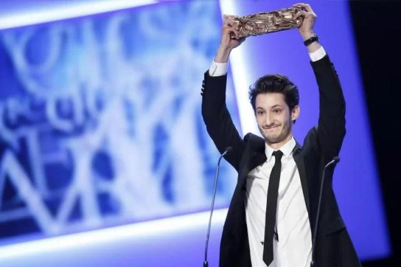 Pierre Niney è il più giovane attore in assoluto ad aggiudicarsi il premio César - fonte: www.ouest-france.fr
