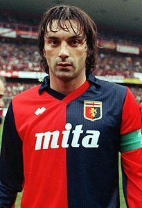 Gianluca Signorini, morto di SLA il 6 novembre 2002. www.wikipedia.it