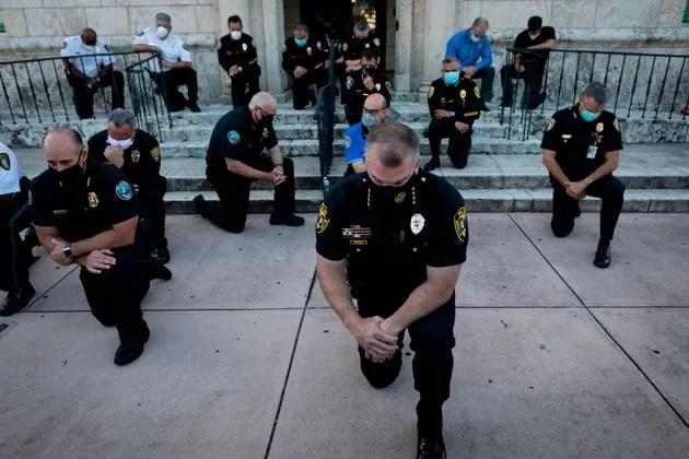 black lives matter polizia