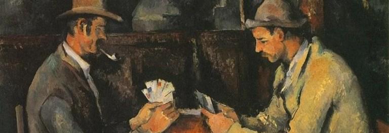 «I giocatori di carte»: Cézanne e la sfida tra gli opposti