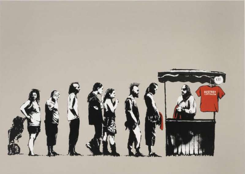 BANKSY A VISUAL PROTEST