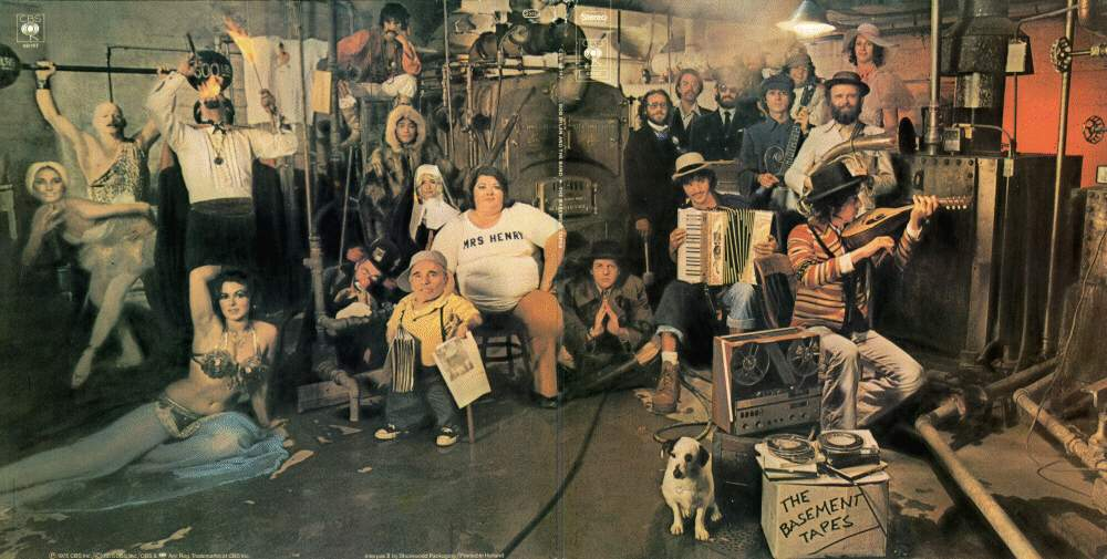 basement tapes di bob dylan