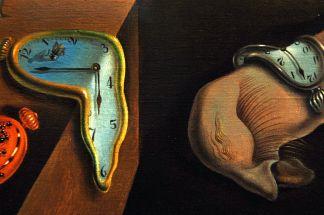«La persistenza della memoria» di Salvador Dalì