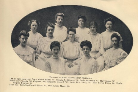 The Alpha Gamma Delta Founders
