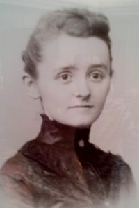 Honta Smalley (Bredin), Frank Smalley's sister, a member of the Beta chapter of Gamma Phi Beta at the University of Michigan