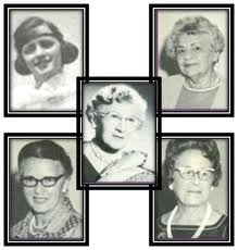 The founders of Delta Phi Epsilon