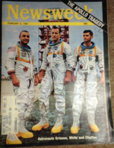 """Virgil """"Gus"""" Grissom, Edward H. White II, and Roger B. Chafee were killed in the Apollo 1 cabin fire. White was a member of Phi Kappa Sigma."""