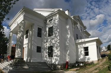 The renovated Psi Upsilon chapter house (Photo courtesy of Syracuse University magazine)