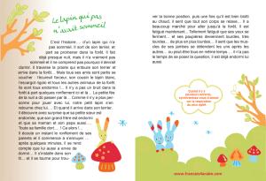 histoire en français pour les petits enfants avant de dormir – Le lapin qui pas n'avait sommeil