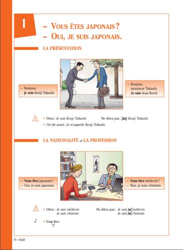 Grammaire progressive du français - Niveau débutant P8