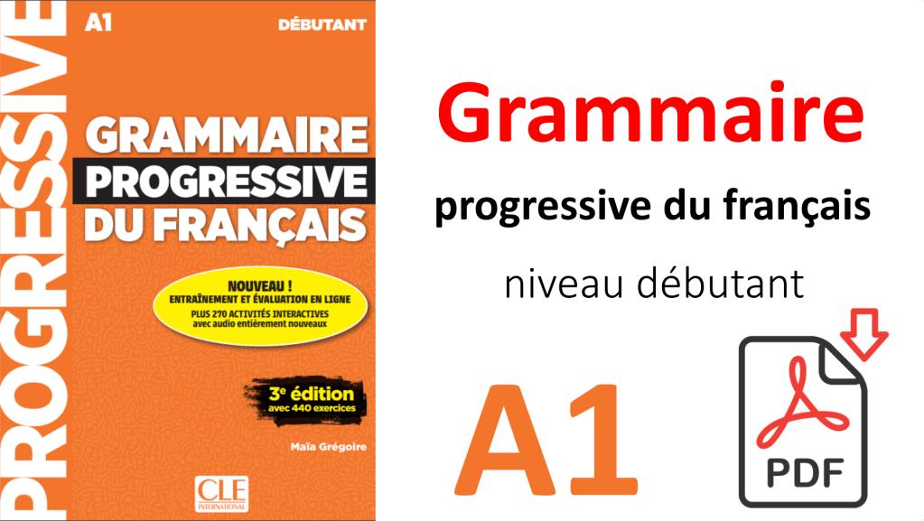 télécharger grammaire progressive du français niveau débutant PDF gratuit