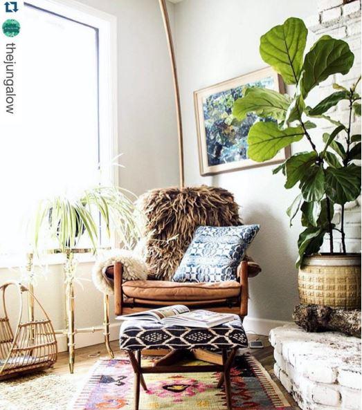 Looks for Less: Cozy, Bright Boho Corner
