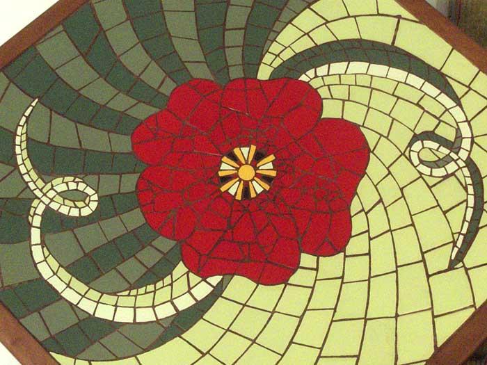 Mobilier Mosaique Decoration D Interieur Celine Georgeon